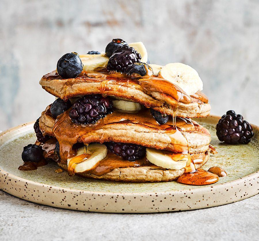 Easy protein pancakes