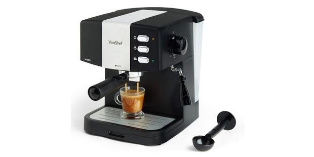 VonShef 15- bar espresso machine