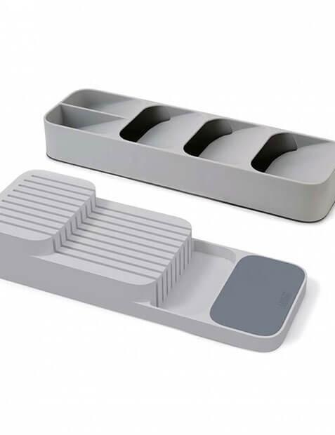 Joseph Joseph Nest™ Cutlery & Knife Organiser Set, Bundle of 2 Sets
