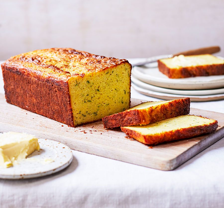 Courgette & cheddar cornbread_image