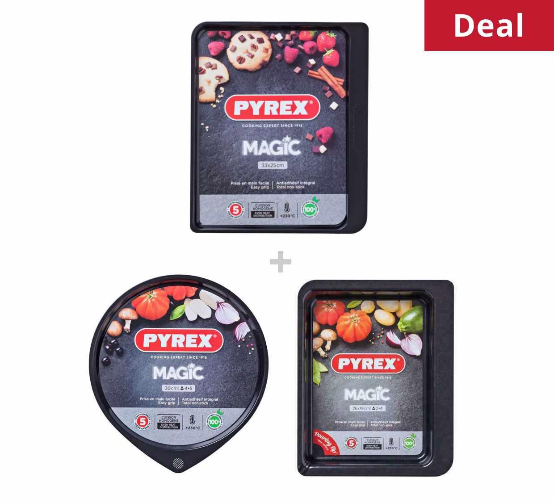 Pyrex Magic tray bundle