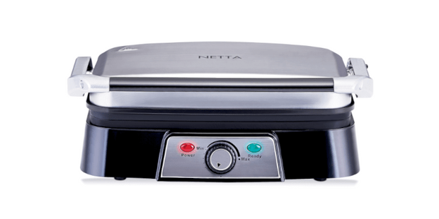 Netta 2 Slice Panini Maker and Health Grill