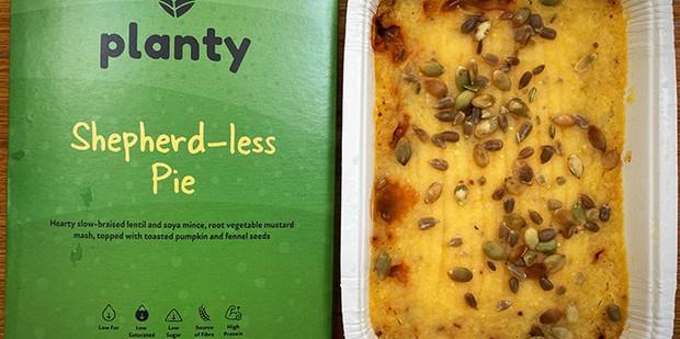 Planty Shepherd-less Pie