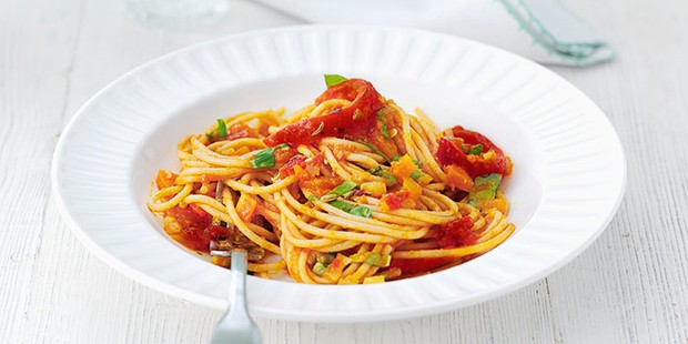 super veg pasta