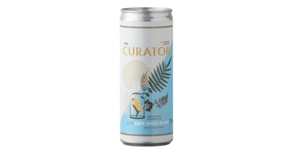 AA Bardenhorst Curator Cape White Blend 2020, best canned wine