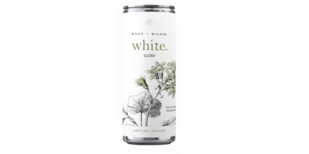 Amfora West Wilder white, best canned wine