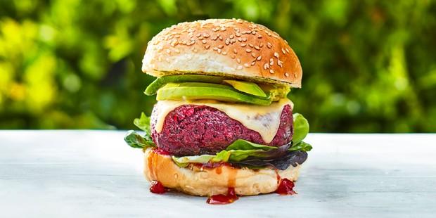 Beetroot-burger