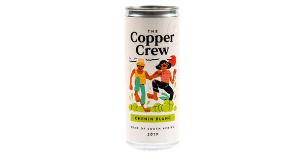 Copper Crew Chenin, 2019, best canned wine