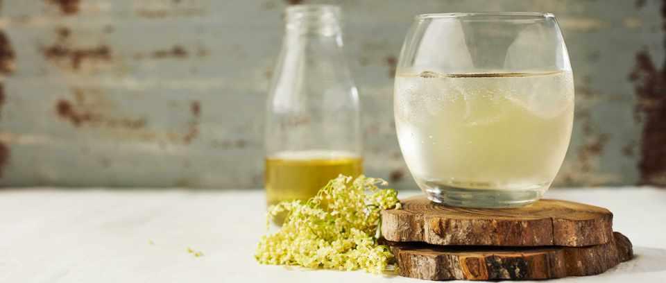 Elderflower drink