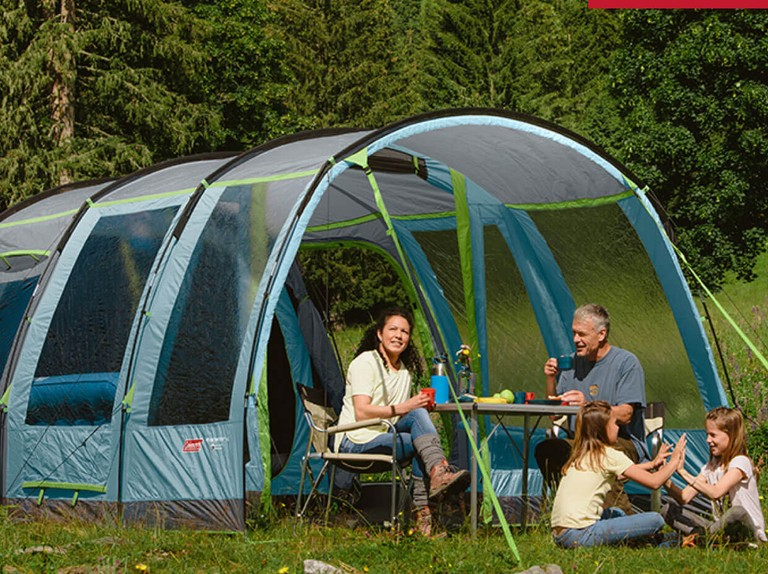 Save up to £161 on a Coleman camping bundle