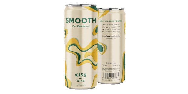 Kiss of Wine Smooth Chardonnay, best canned wines