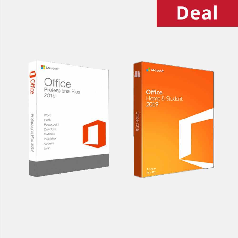 Microsoft Office Professional Pro & Home and Student 2019 Software