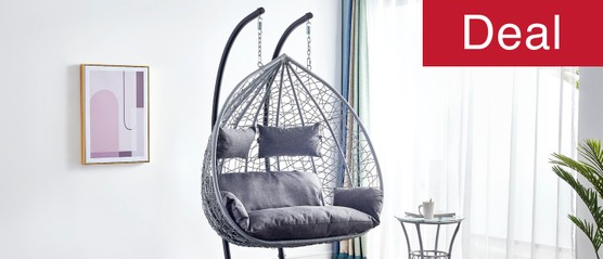 Double Seater Egg Chair