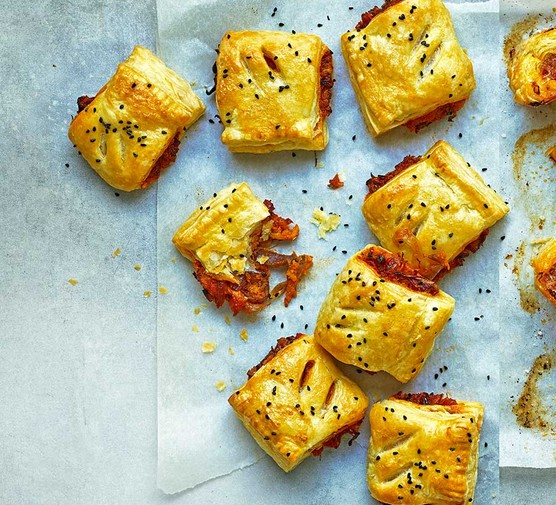 A collection of sweet potato & caramelised onion rolls