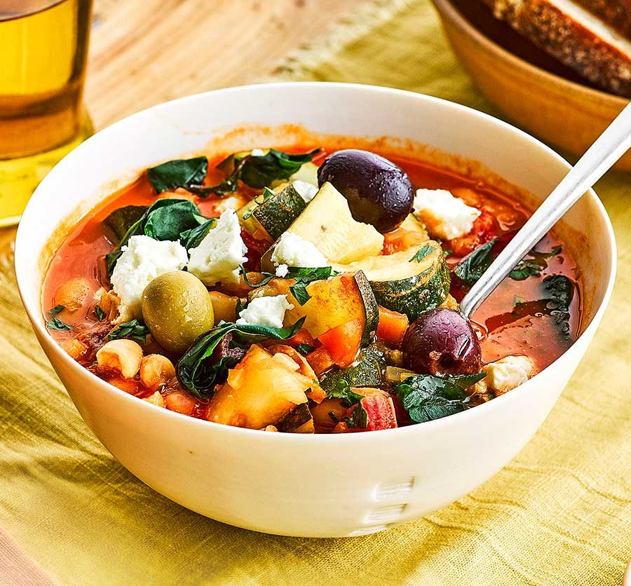 Fridge-raid soup