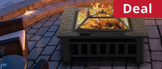 Hirix fire pit