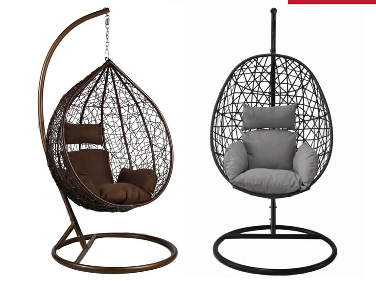 Grab £270 off a hanging egg chair!