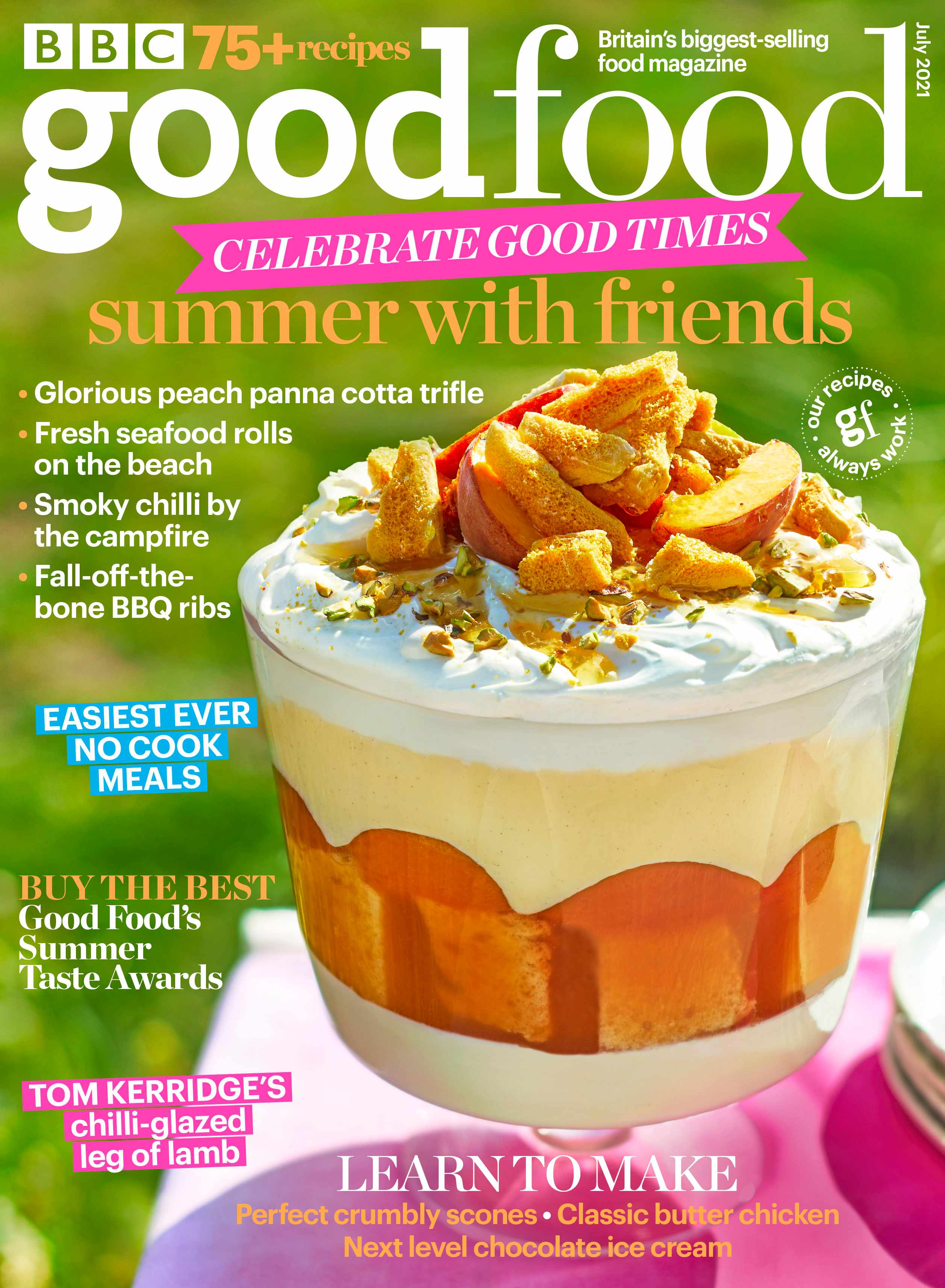 Good Food July 2021 cover