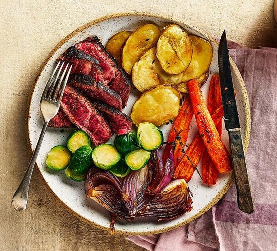 One healthy roast dinner