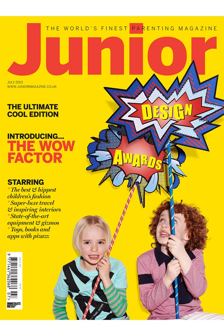 The Final Issue: The Junior Design Awards issue from July 2013