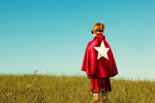 Why do children need superheroes?