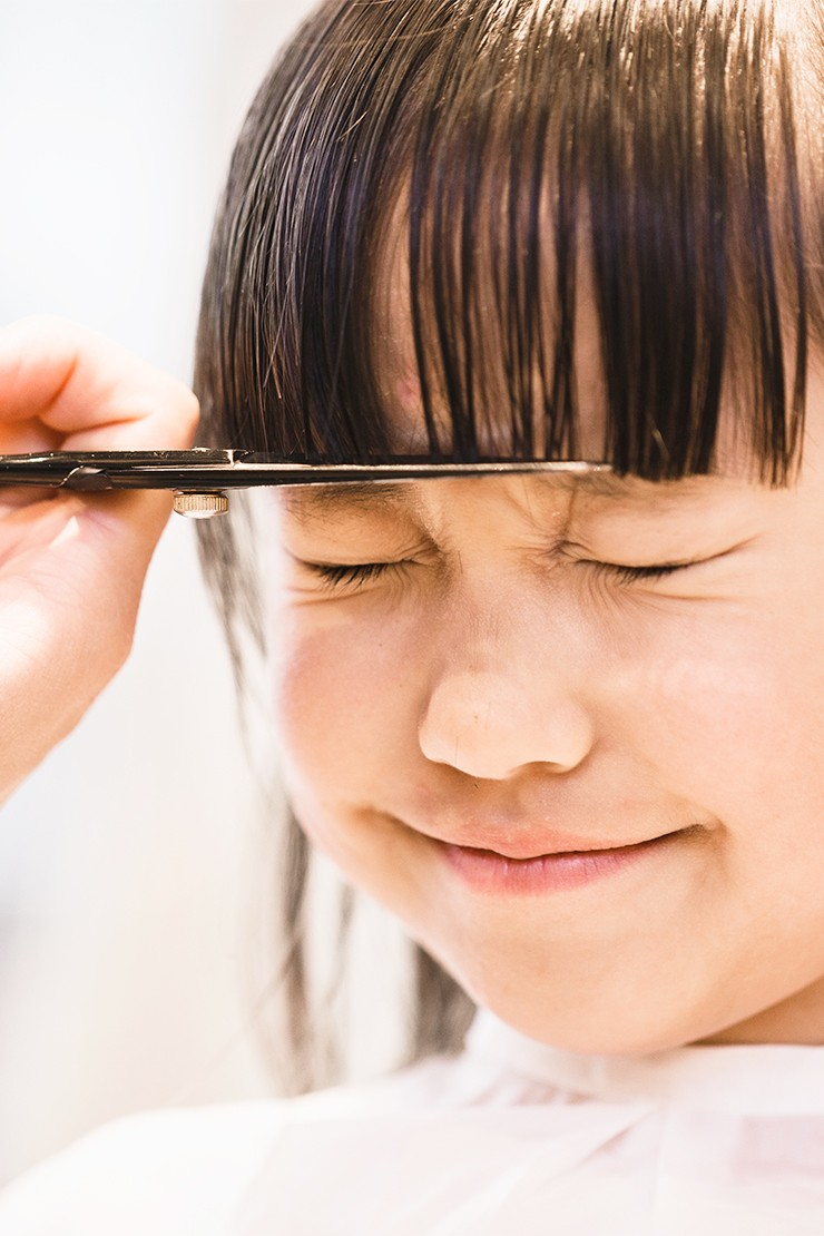 How to tackle your child's first haircut