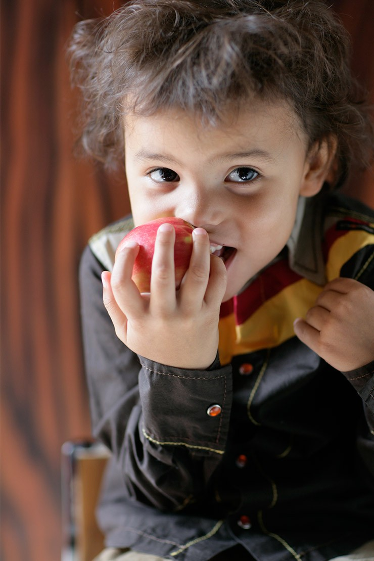 How can I encourage my child to eat more fruit and vegetables?