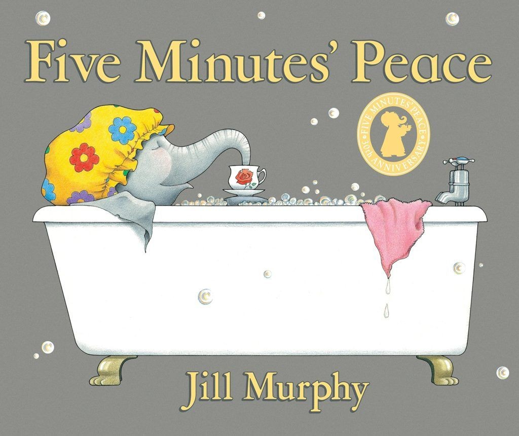 Want 'Five Minutes' Peace' this Mother's Day? Mrs Large shares her top tips...