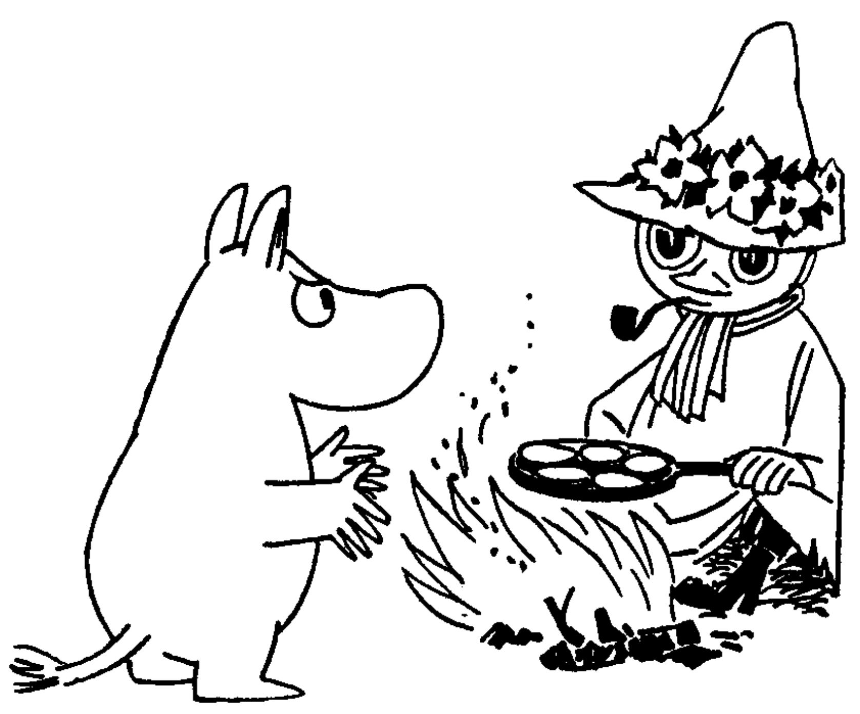 The Moomins Cook Bookby Tove Jansson and Sami Malila