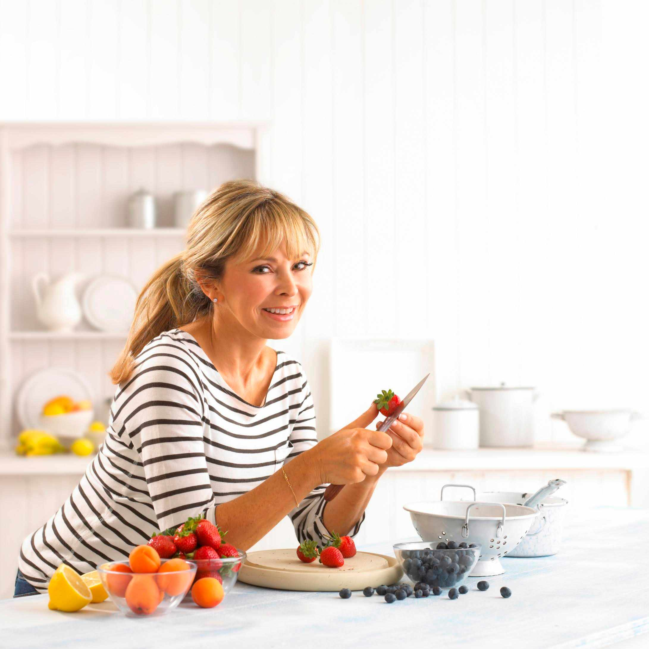 Junior meets bestselling food writer Annabel Karmel