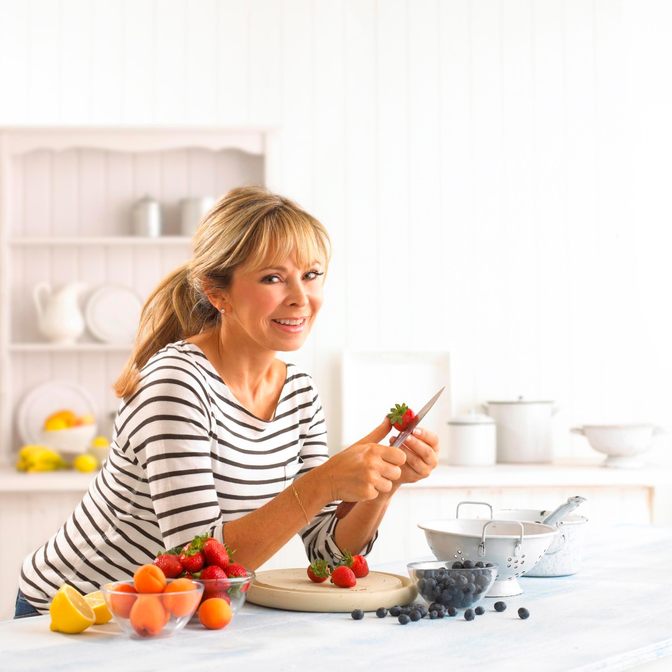 Junior meets bestselling food writer Annabel Karmel