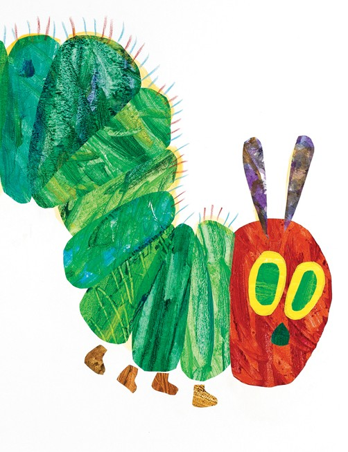 Junior meets Eric Carle, author of your favourite children's book: The Very Hungry Caterpillar