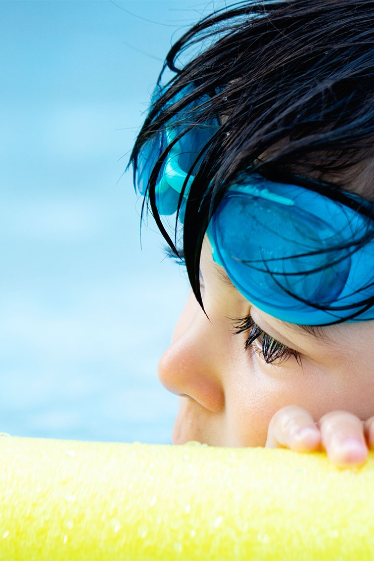 Swimming with your child