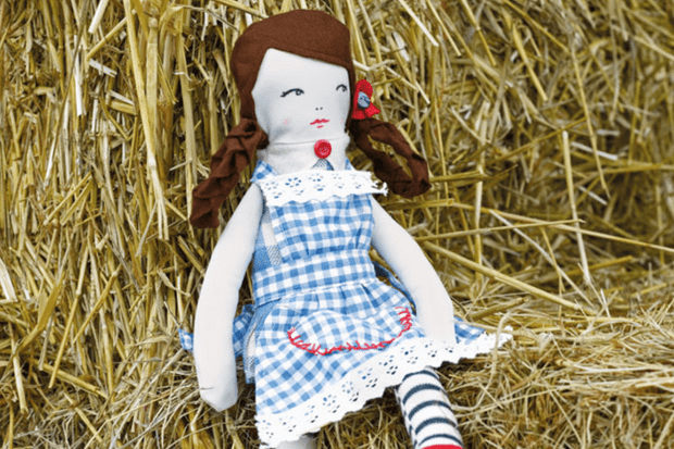 Make your own Dorothy from the Wizard of Oz doll
