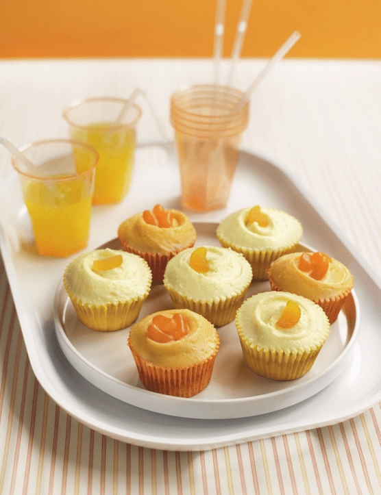 The Hummingbird Bakery Fizzy Lemonade Cupcakes