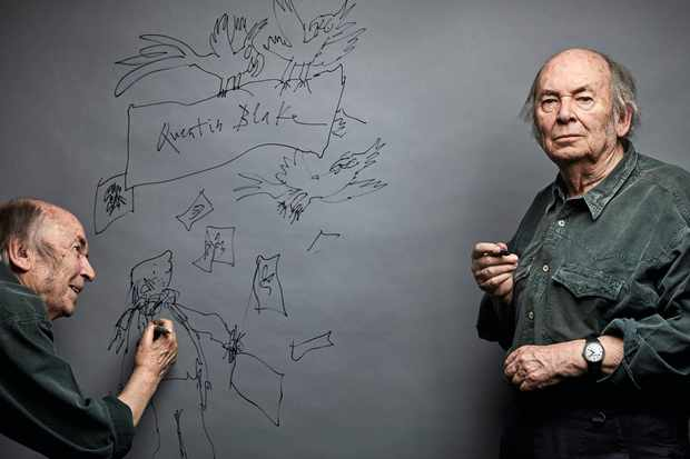 Junior Meets: Quentin Blake