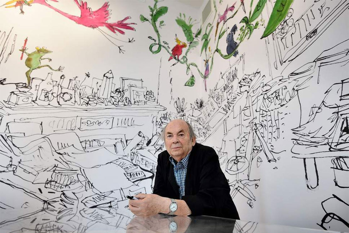 A chat with Quentin Blake