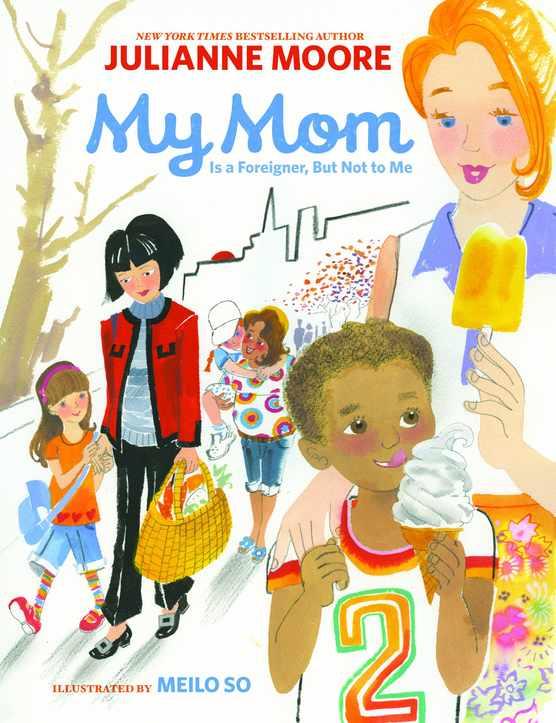 Film star Julianne Moore discusses her new children's book