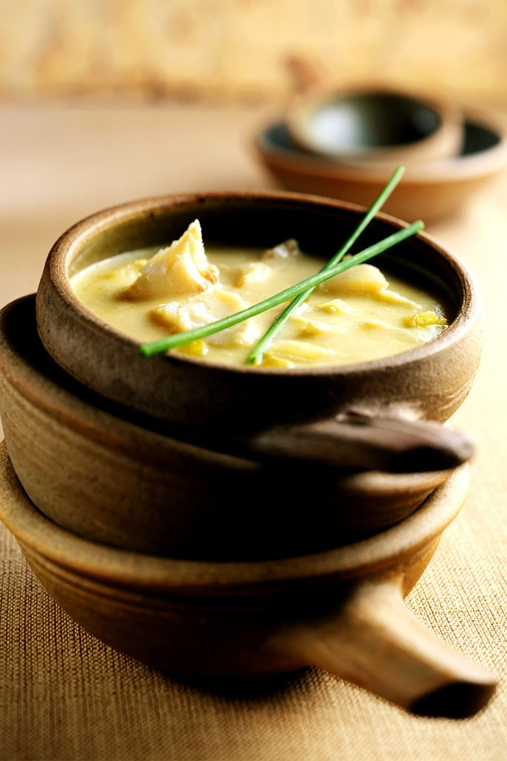 Parsnip & Smoked Haddock Soup
