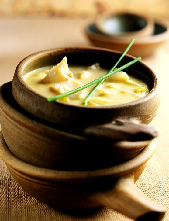 Parsnip & Smoked Haddock Soup