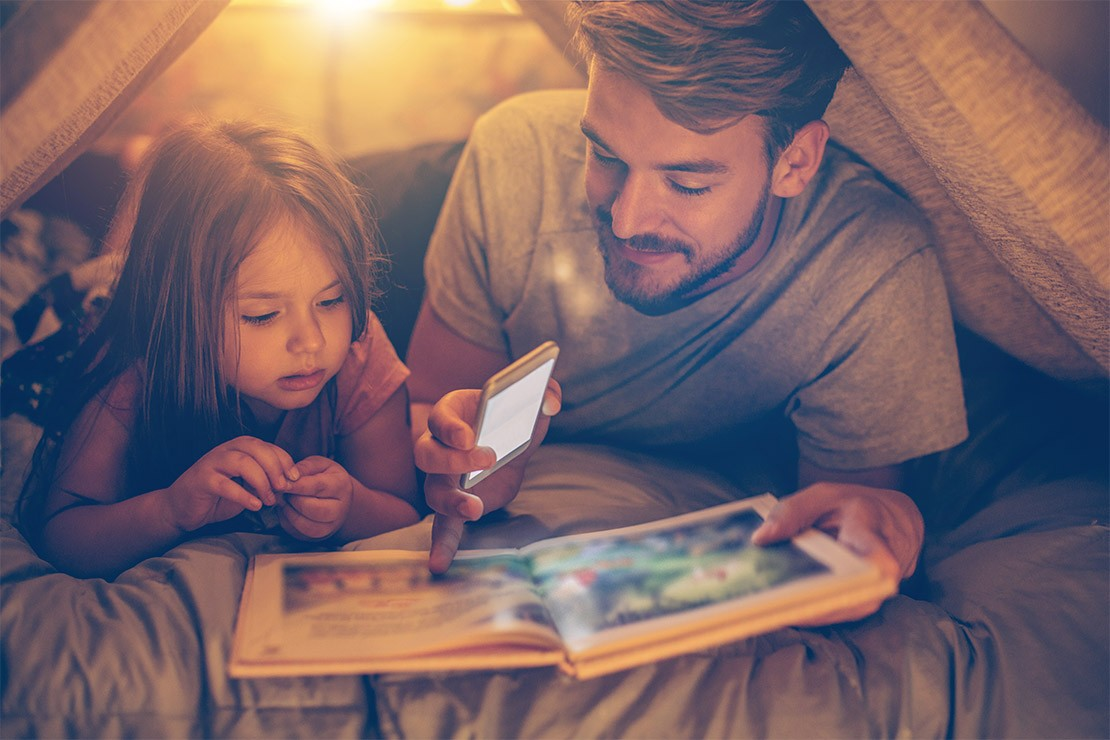 Why fathers should read with their children