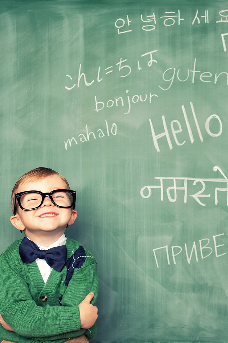 How to teach your child a second language