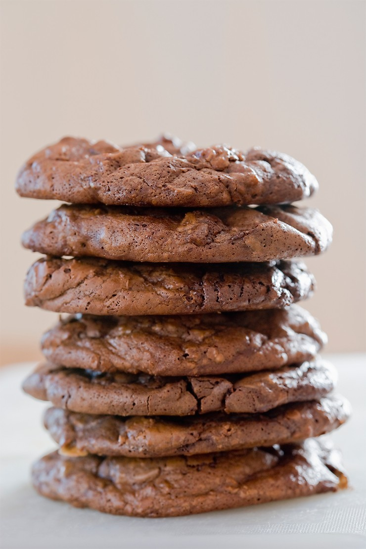 Recipe from the Hummingbird Bakery: Double chocolate chip cookies
