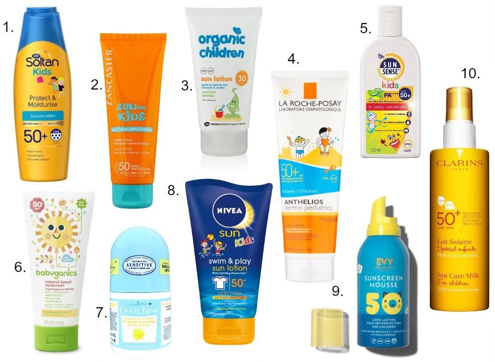 Five Ways to protect children's skin in Summer