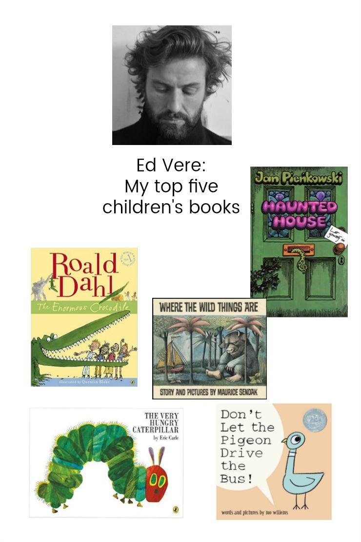 Ed Vere: My top five children's books