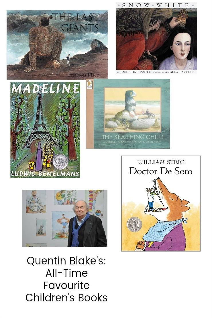 Quentin Blake's All-Time Favourite Children's Books
