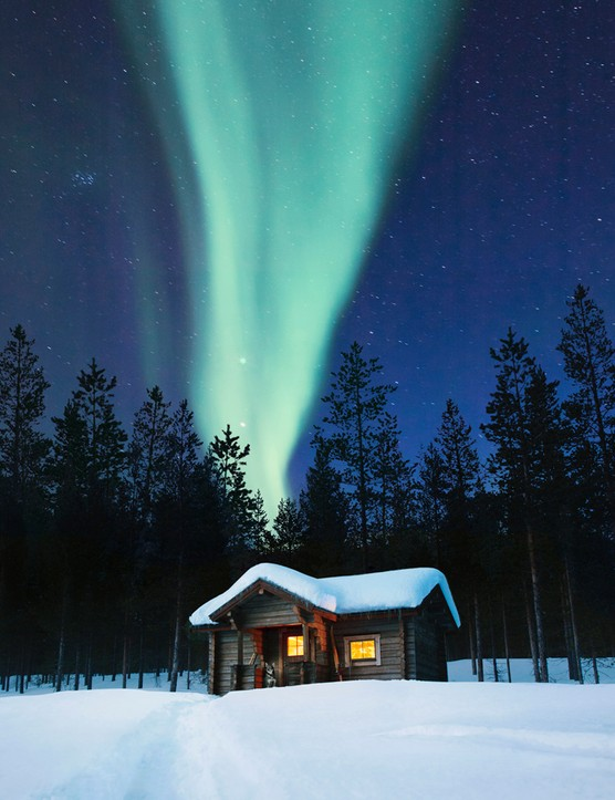 A holiday to see the Northern Lights in Lapland