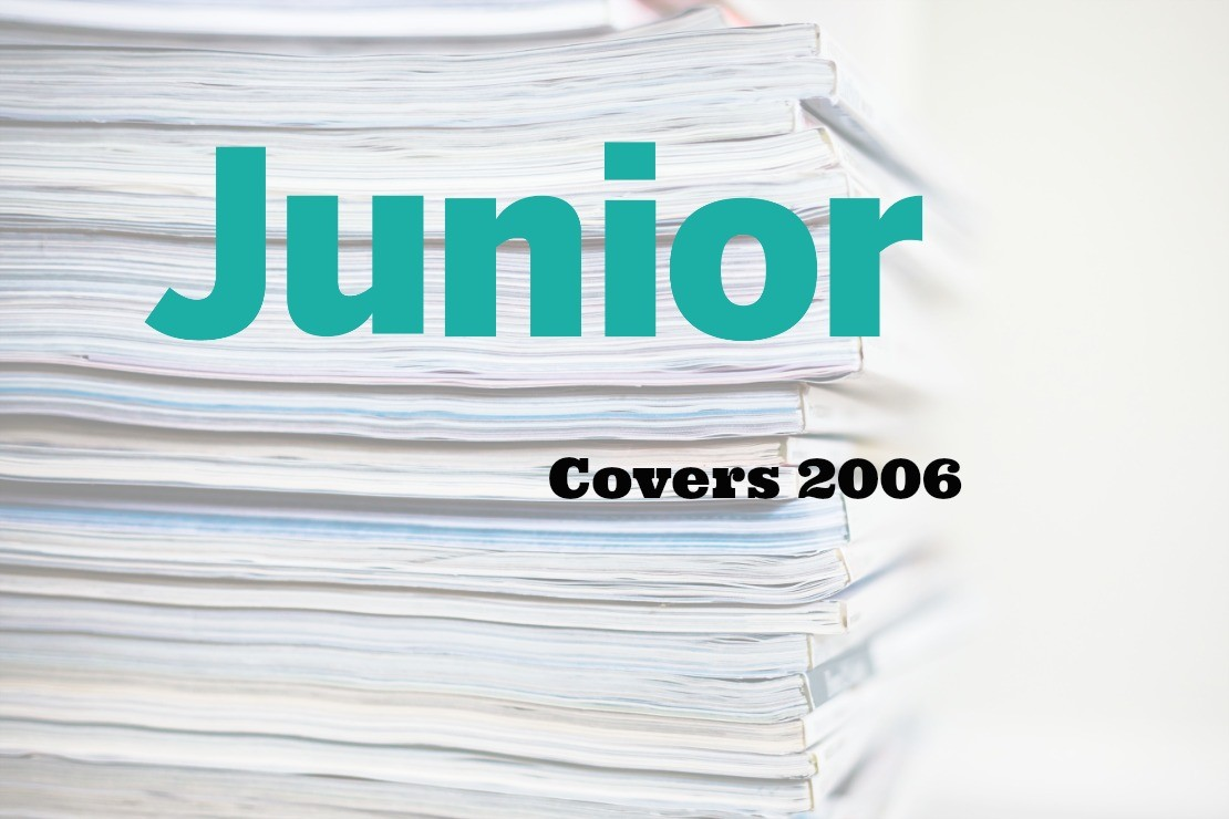 Junior Magazine Covers from the archive