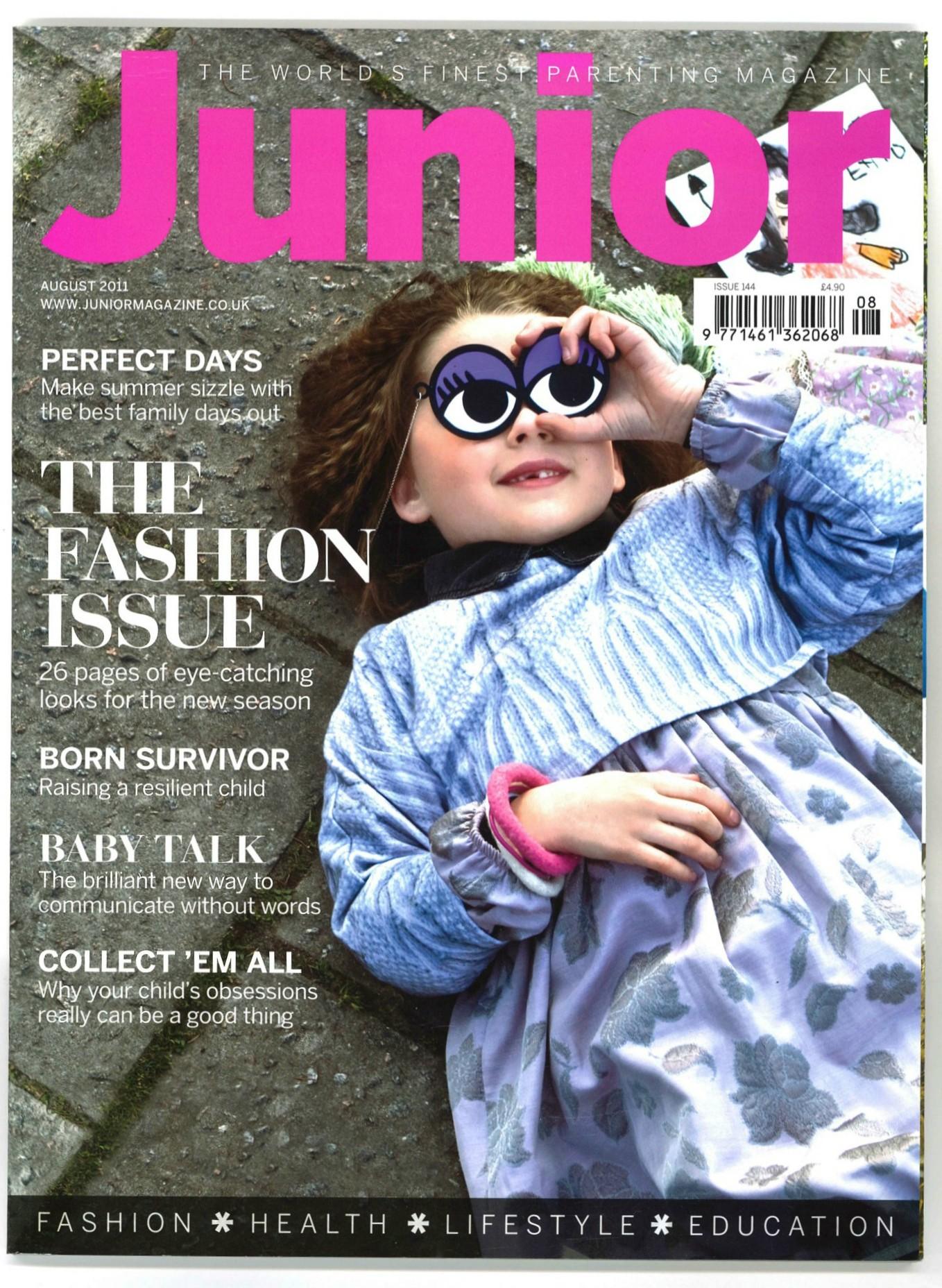 Junior-August-cover-2011