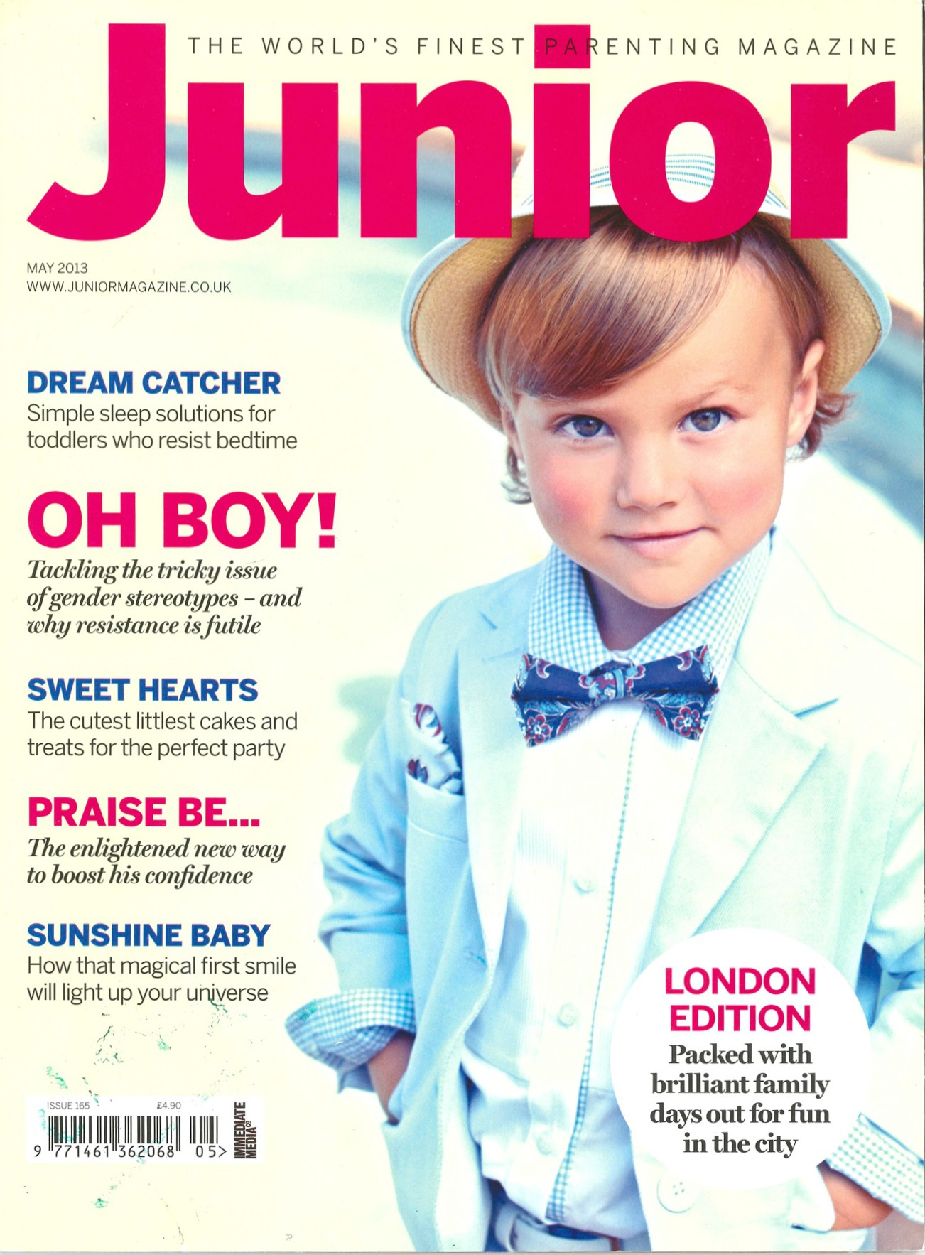 Junior Magazine Covers from 2013 copy